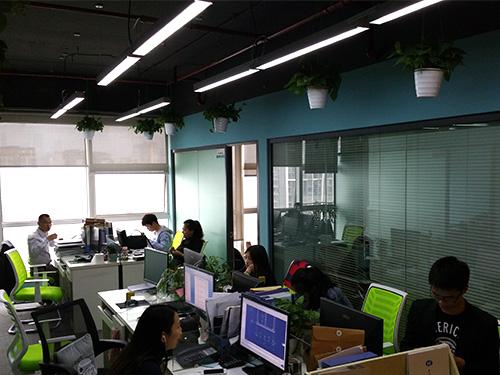 重庆阳正环保办公环境