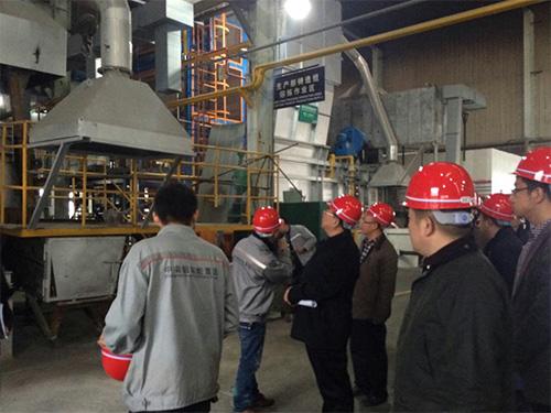 市领导来访重庆阳正环保